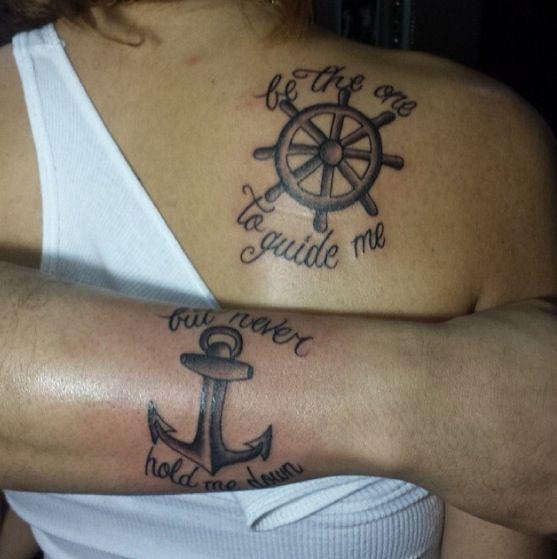 Tattoo Designs Dad: Father Daughter Tattoo