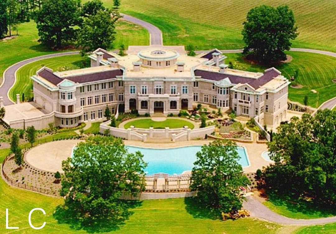 Rick Ross Mega Mansion | Check Out @LuxuryLifeFashion ...