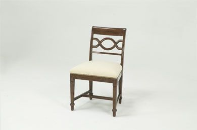 6914 Twine Back Side Chair Bausman Company Side Chairs