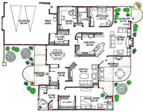 Eco Friendly House Designs Floor Plans Home Decor Amp Interior Homes Building Plans House Eco House Design Floor Plans