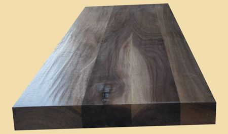 Best Prefinished Walnut Hand Scraped Extra Thick Stair Treads 640 x 480
