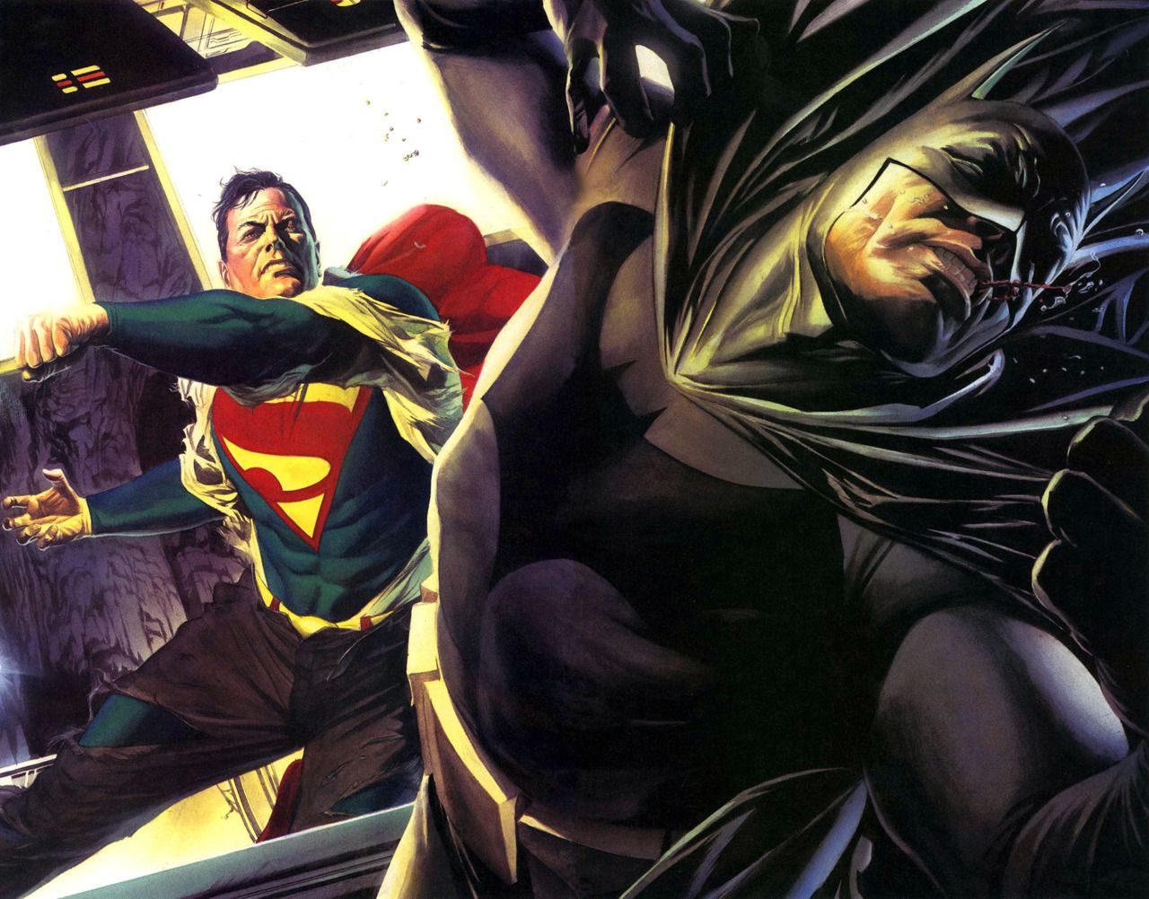 Superman Vs Batman By Alex Ross