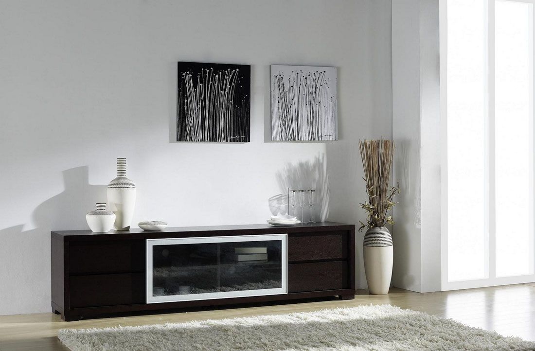 Ann entertainment unit with movable glass doors and drawers. If you ...