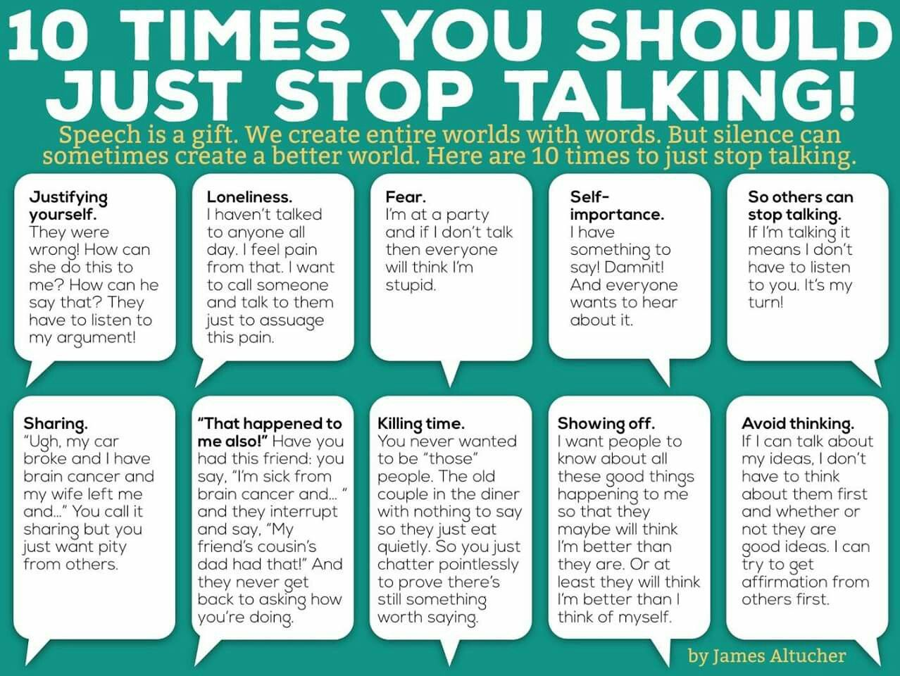 how to say stop talking in french