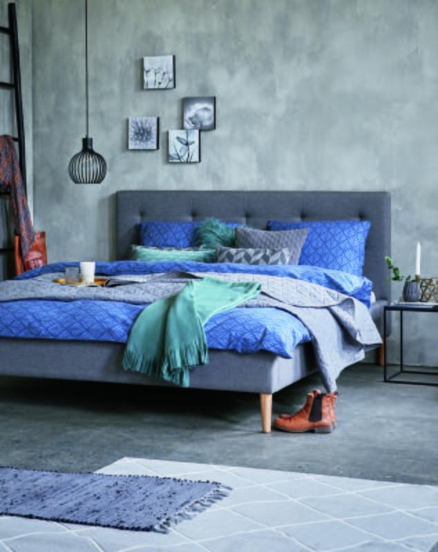 Kolekcja Jysk Jesien 2017 Bed Frame Grey Bed Frame Bedroom Decor