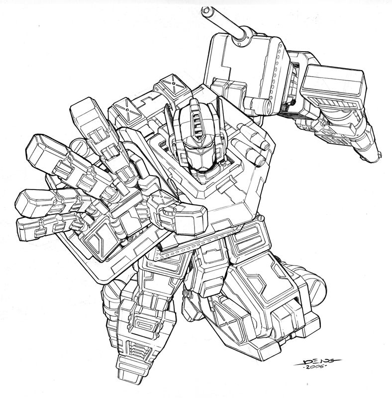 Optimus Prime By Ngboy On Deviantart Superhero Coloring Pages Comic Book Artwork Coloring Pages Inspirational