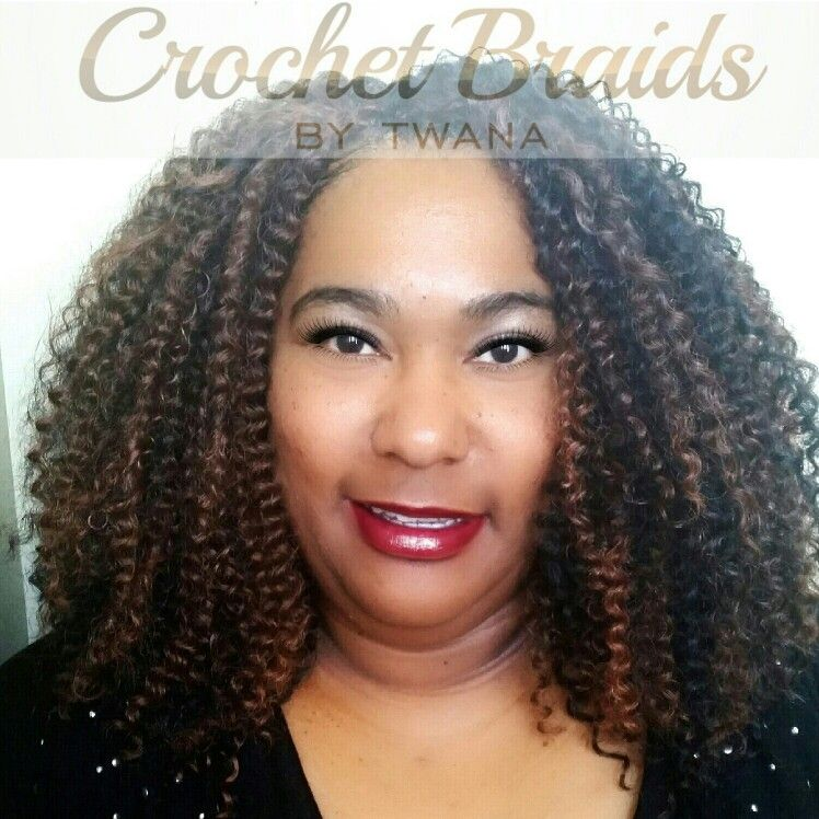 Crochet Braids with Freetress Bohemian in colors 1B/30
