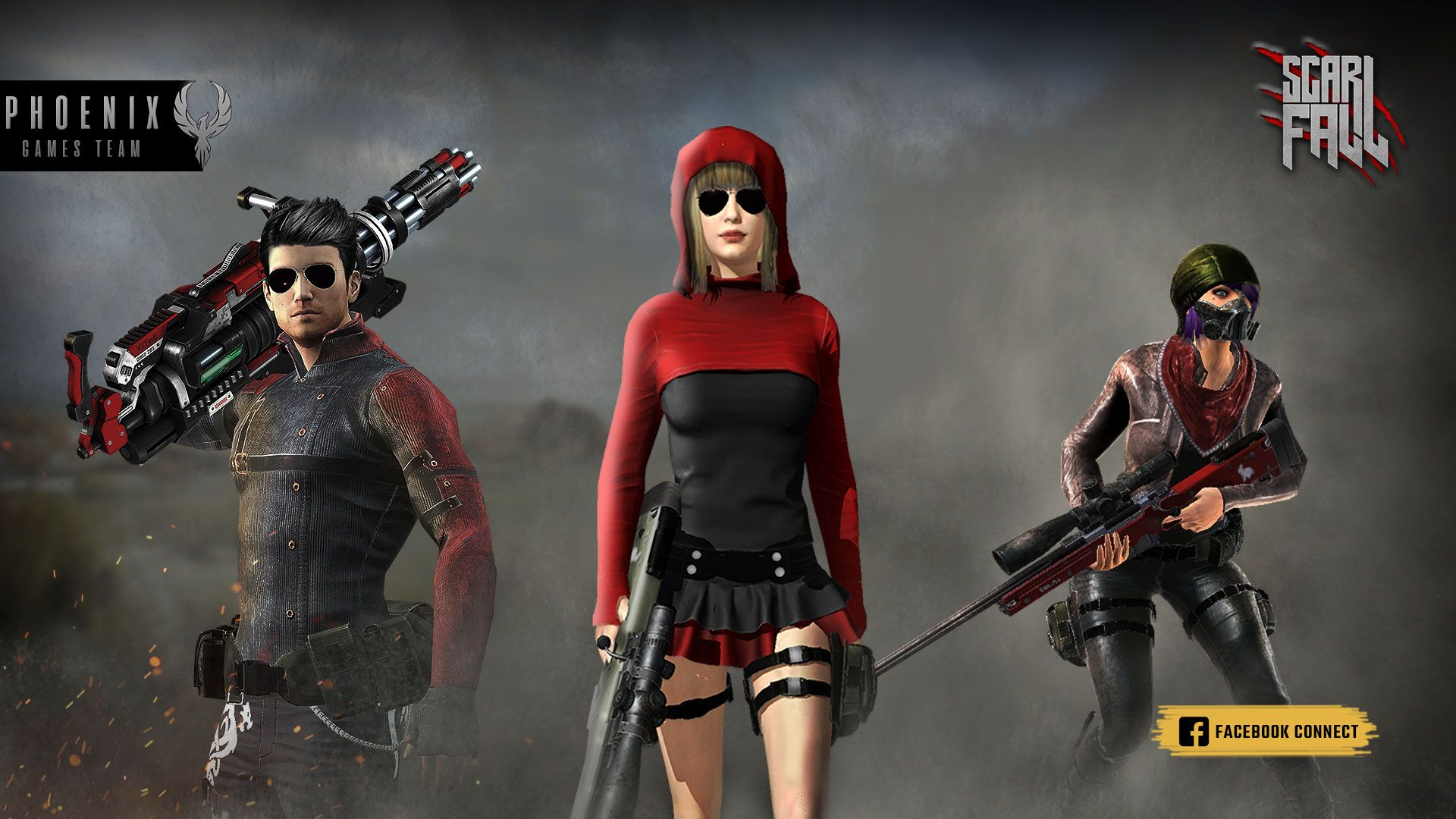 ScarFall The Battle Royale Best multiplayer games with