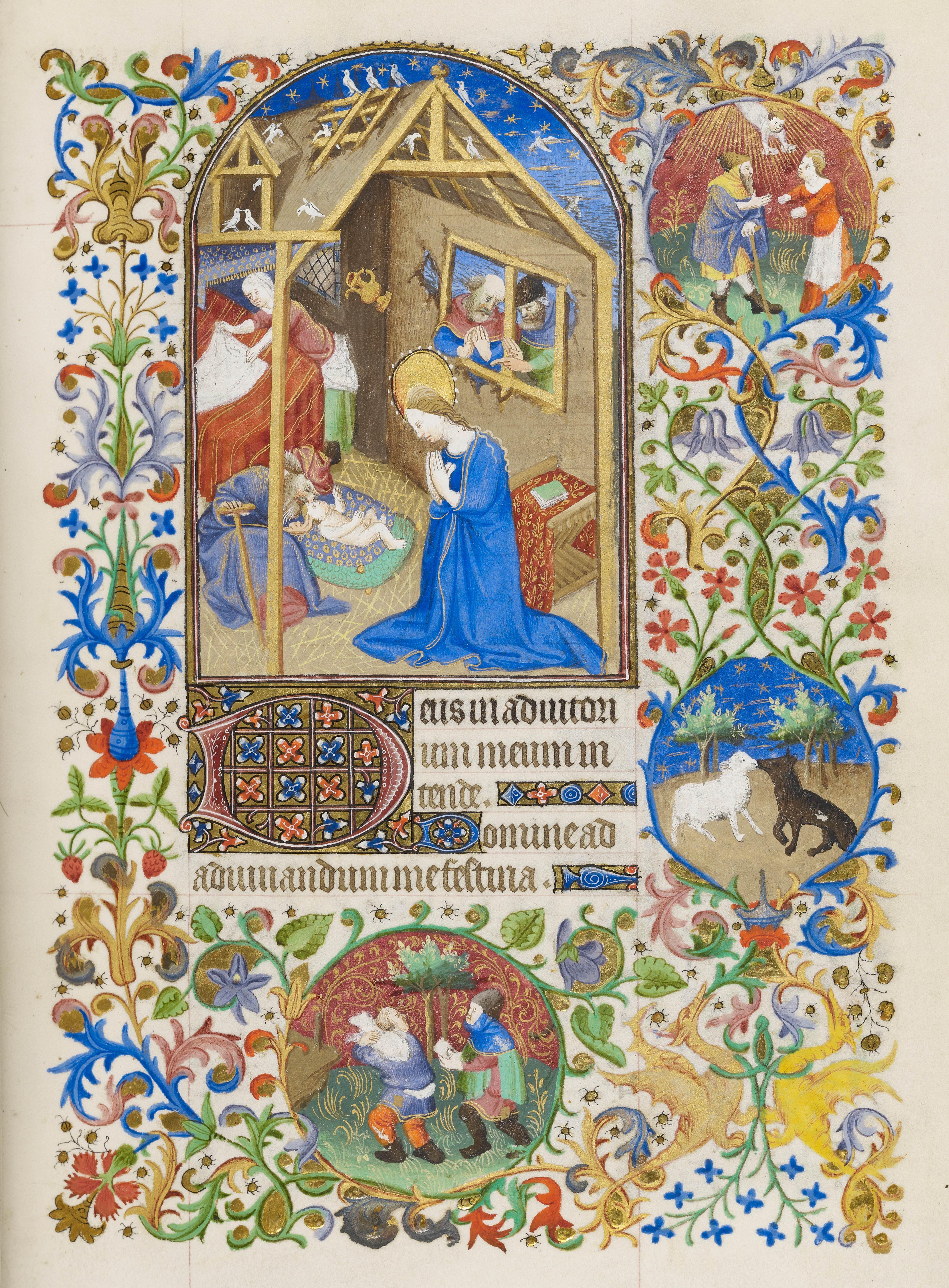 Christ: Nativity   Book of Hours   ca. 1425-1430 ...