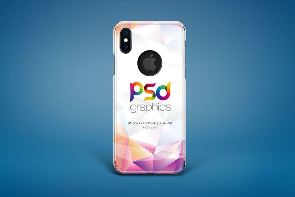 cheaper e02e7 80dc6 iPhone X Case Mockup Free PSD #iPhone #Case #Mockup #PSD | iPhone ...