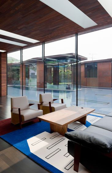 Daeyang Gallery And House, Seoul, Korea By Steven Holl Architects