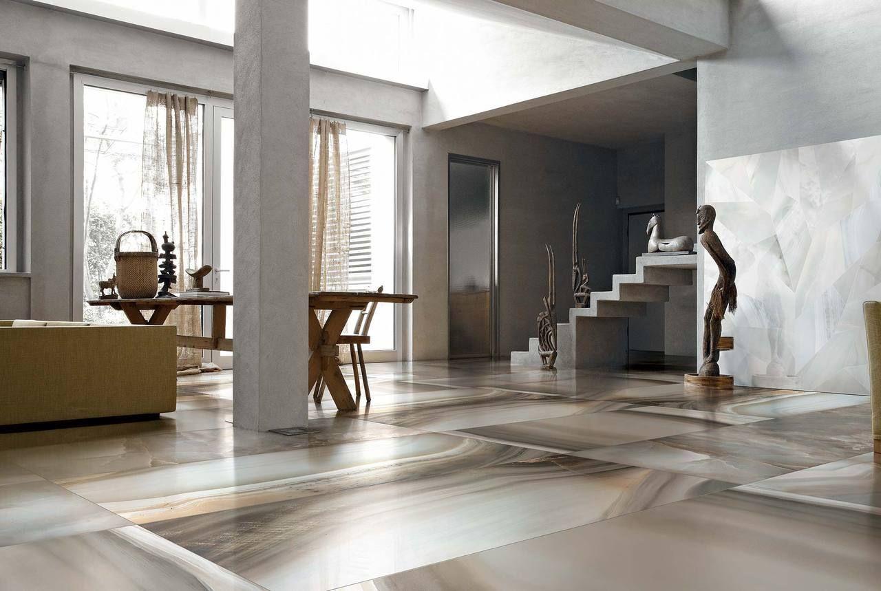 Porcelain Tile Kitchen Floor Alabastri Di Rex Bamboo 24 X 48 Polished Porcelain Tile