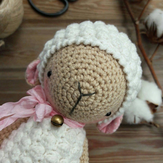 Lamb Crochet Pattern Patterns Pinterest Lambs Crochet And