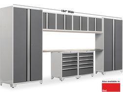 10 Piece Set Pro 3 0 Series Steel Storage System From Menards