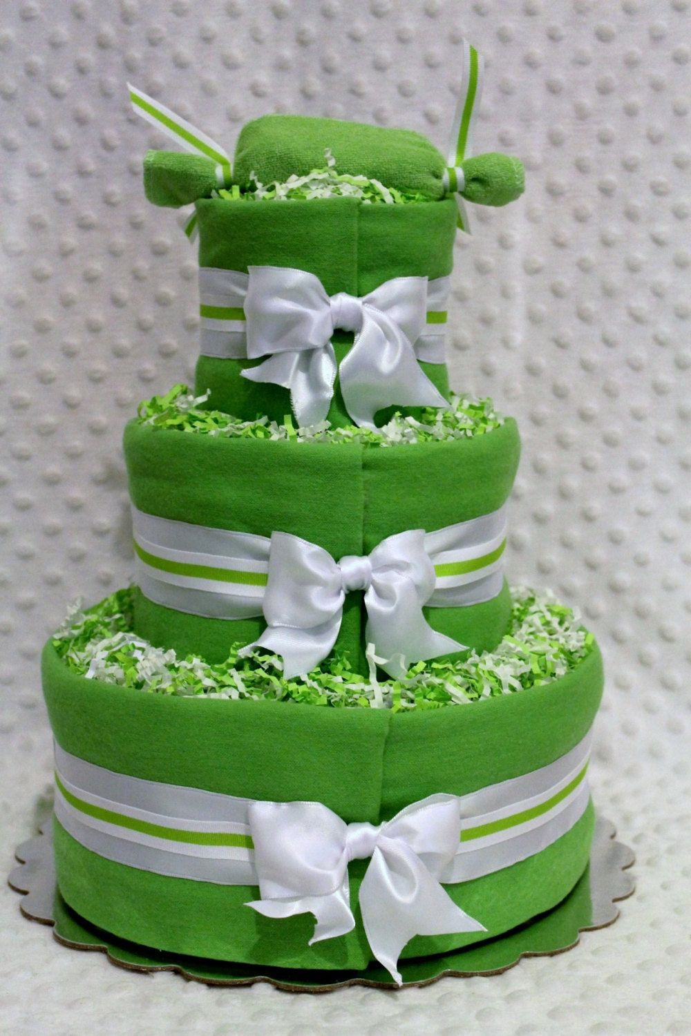 diaper cake for twin girls - Google Search