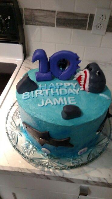 Shark Cake For Jamie