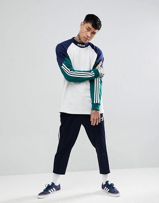Adidas con lo skateboard pitils felpa grigia ce1820 adidas