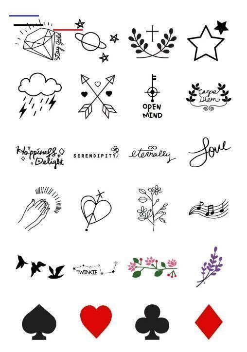 #Desenhos #IDEIAS # Inspirations #TATUAGENS simples tatouage design - #inspirationaltattoos