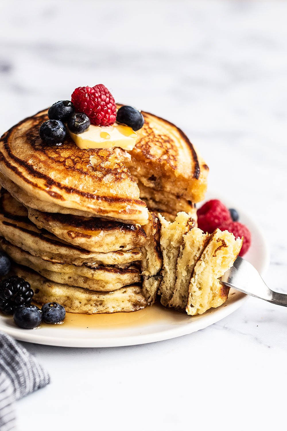 Easy Homemade Buttermilk Pancakes We Make These Every Sunday In 2020 Best Pancake Recipe Homemade Buttermilk Pancakes Pancake Recipe Buttermilk