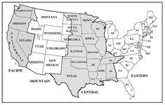US Time Zone Map - ClipArt Best - ClipArt Best   Time Zones ...