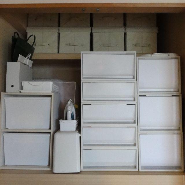PPケース/押入れ/カラーボックス/無印良品/収納/棚…など