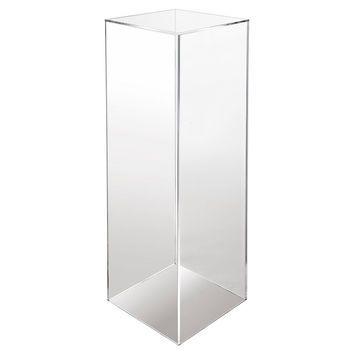Acrylic Pedestal Clear Acrylic Lucite Plant Stands Plinths Clear Acrylic Acrylic Cake Stands
