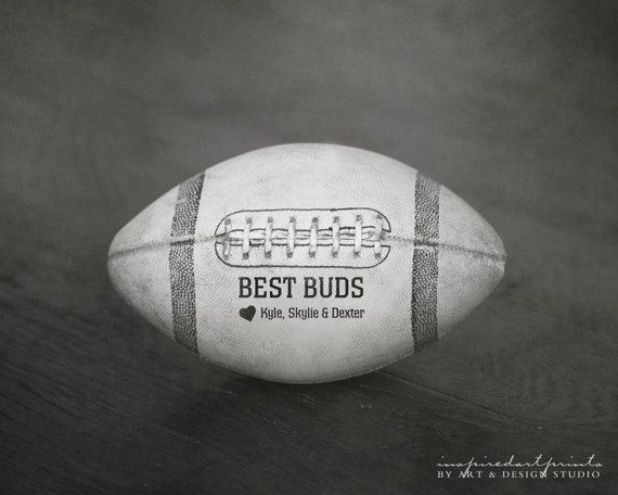 Football Gifts for Dad, Fathers Day Gift from Son, Birthday Gifts for Dad from Daughter, Christmas Gifts for Dad, Football Sports Art Print