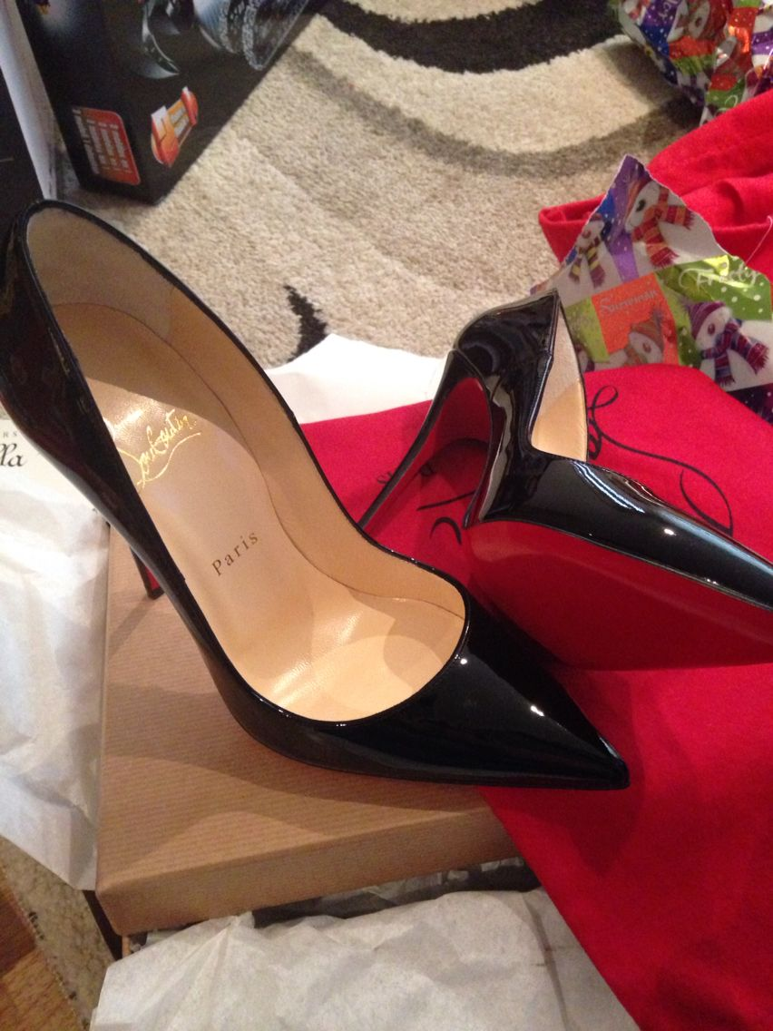 My very own pair. Christian Louboutin ❤️ love a red sole