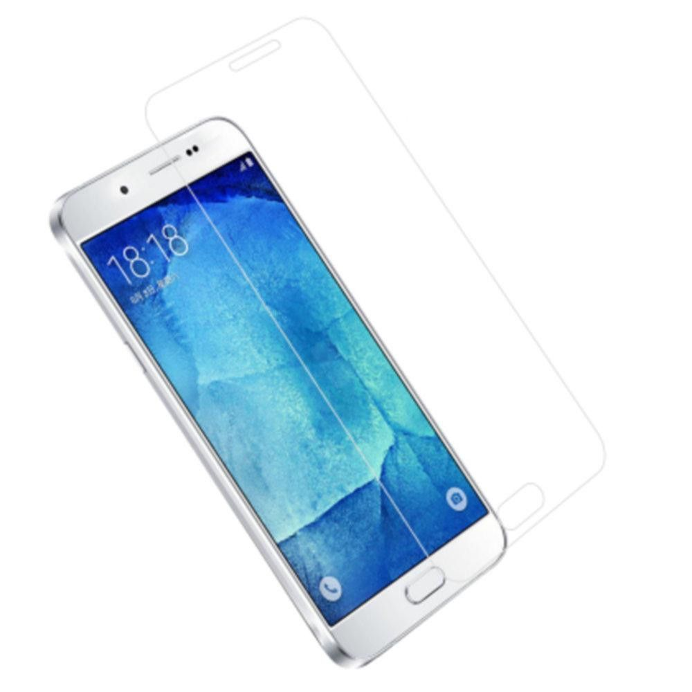 Reiko Samsung Galaxy A8 0.33Mm Tempered Glass Screen Protector In Clear