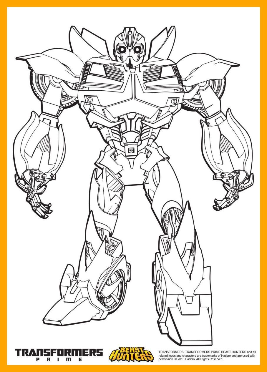 Unbelievable Transformers Prime Beast Hunters Coloring Pages Pic Download Free Best Qua Bee Coloring Pages Superhero Coloring Pages Cartoon Coloring Pages
