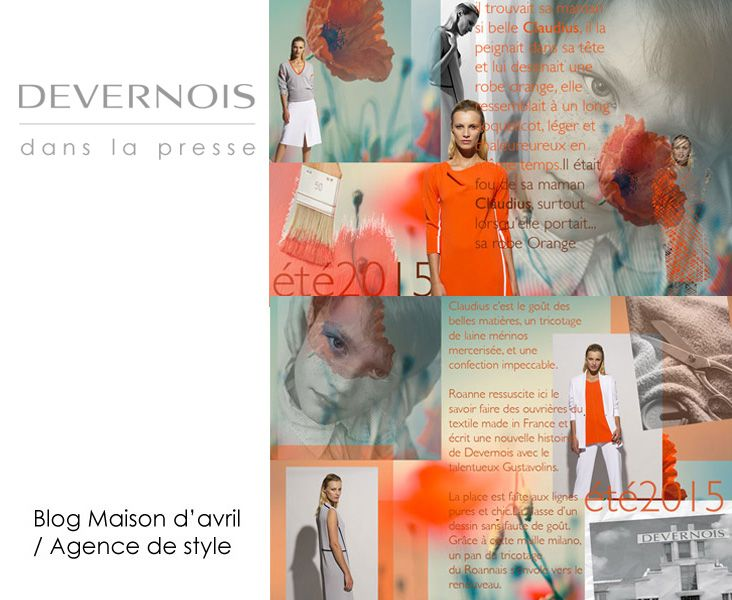 Devernois dans la presse ! Blog maison d\u0027Avril/Agence de style Un