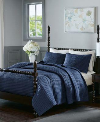 Madison Home Usa Signature Serene Full Queen 3 Piece Cotton Quilt