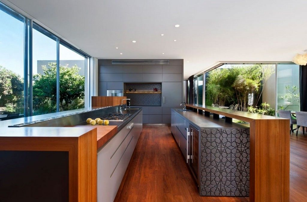villa narrow kitchen ideas with awesome texturized on awesome modern kitchen design ideas recommendations for you id=73688