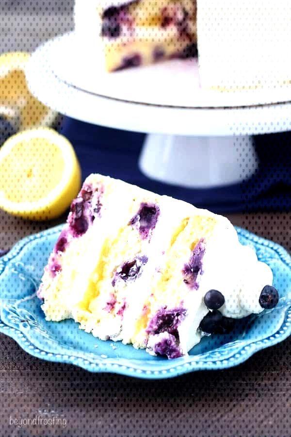 Blueberry Lemon Mascarpone Cake Blueberry Lemon Mascarpone Cake,
