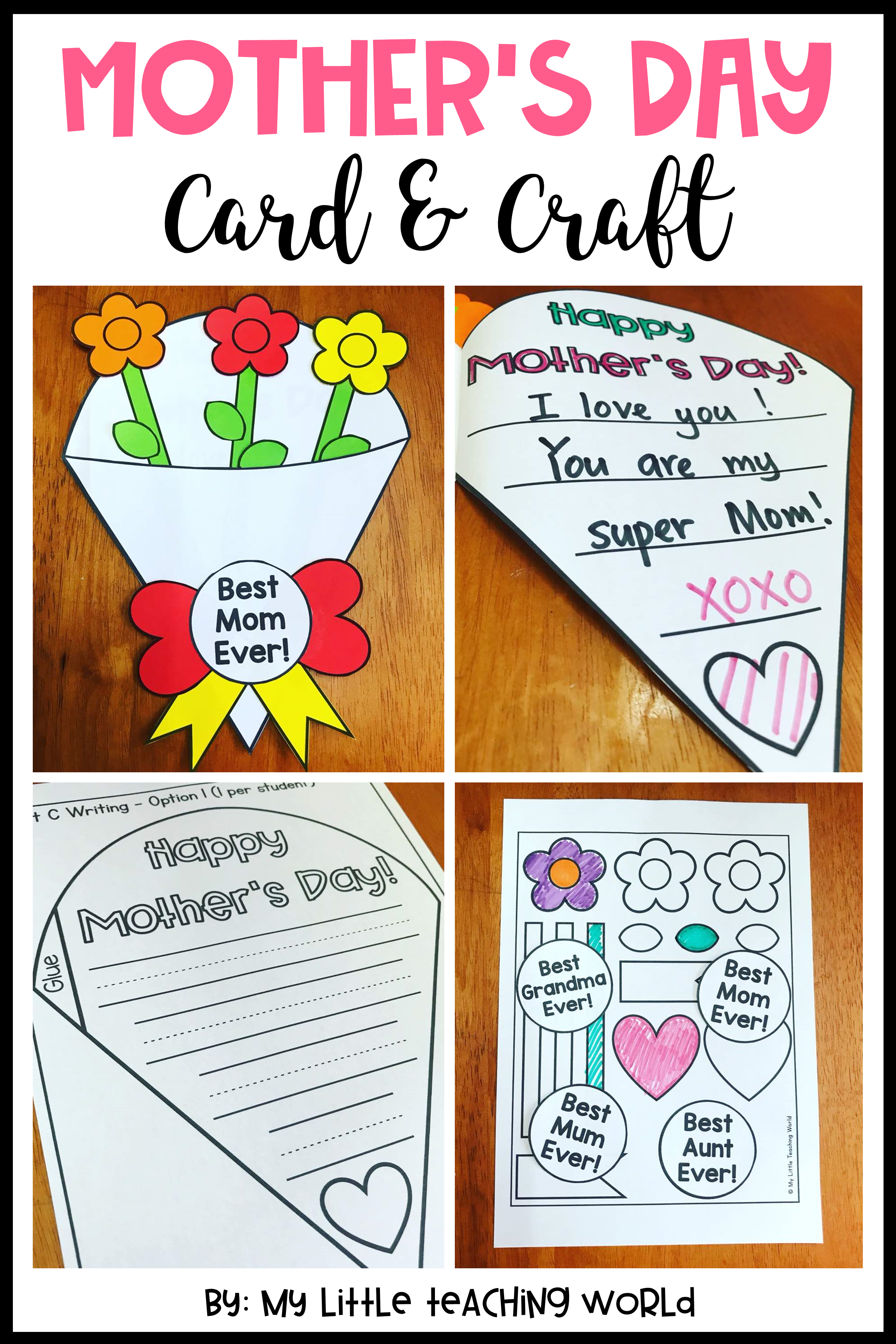 Mother S Day Craft Mothers Day Crafts Mother Card Mothers Day Cards