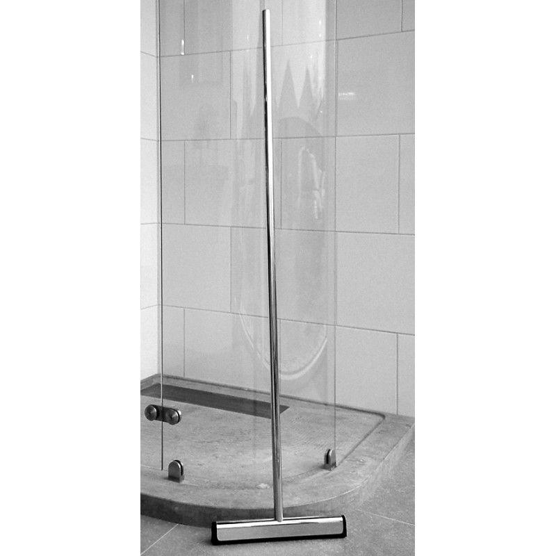 Stijlvol de badkamer netjes achterlatne met deze RVS geborstelde ...