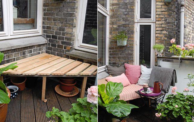 16 idées de décoration pour petit balcon | Balcons, Terrasses et ...
