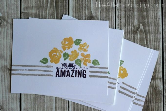 7 Amazingly Easy Cards Made With One Stamp Set Beautiful
