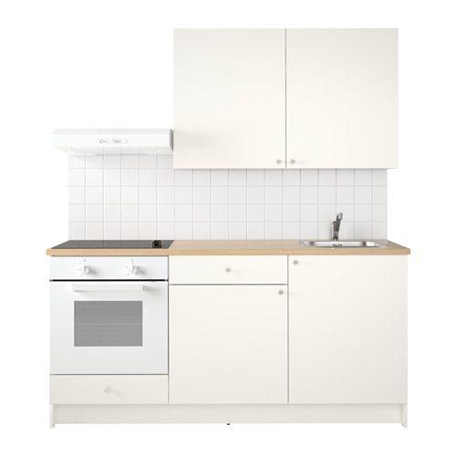 KNOXHULT Kök IKEA Komplett kök där bänkskiva, hyllor, lådor - komplett küchen ikea