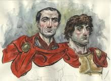 Google Image Result for http://th08.deviantart.net/fs70/200H/f/2011/060/3/4/julius_caesar_and_marc_antony_by_leviathansmiles-d3aou15.jpg