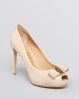 93089c0ab2ea SALVATORE FERRAGAMO Plum High Heel.  salvatoreferragamo  shoes  heel ...