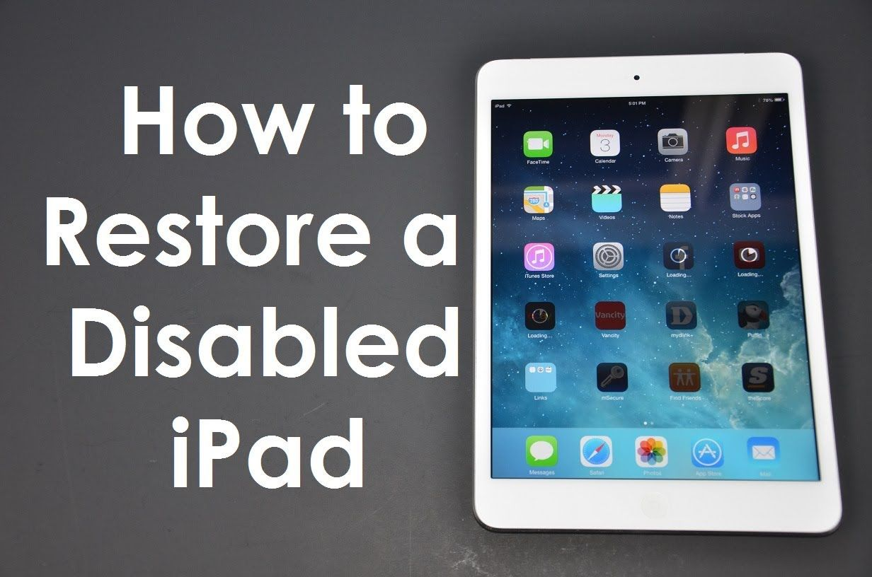 How to Fix Passcode) Disabled iPhone / iPad iOS8