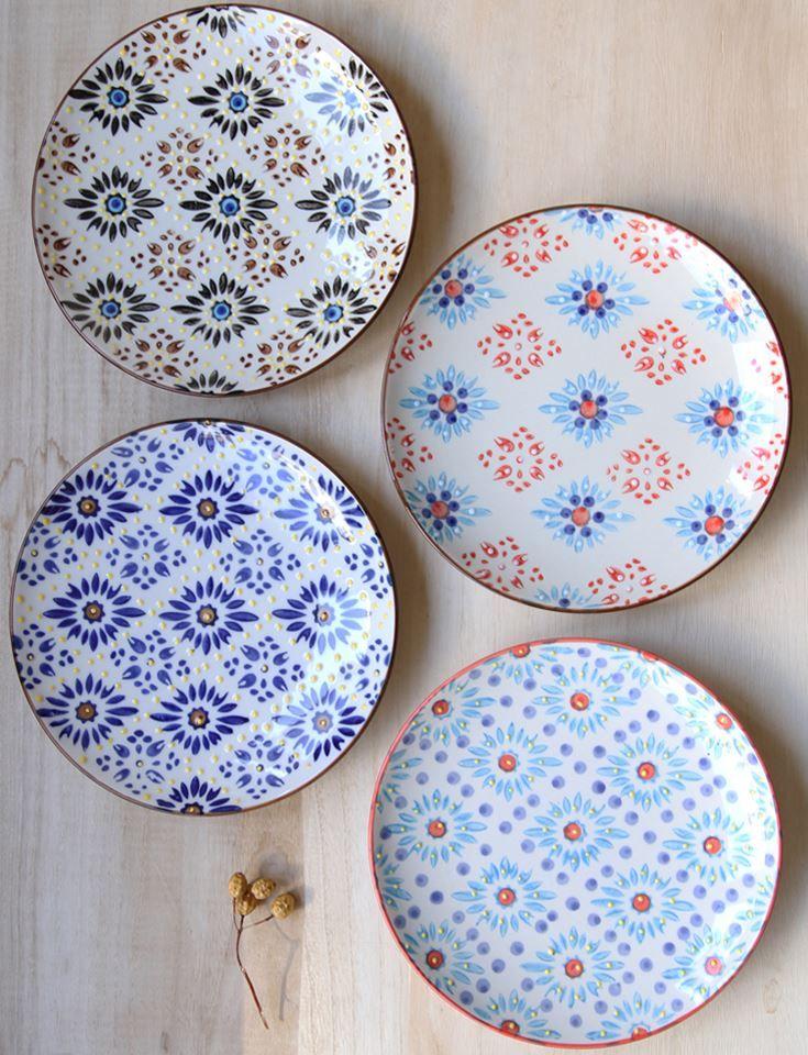 Platos decorados ceramica pinterest mosaics - Villeroy boch vajillas ...