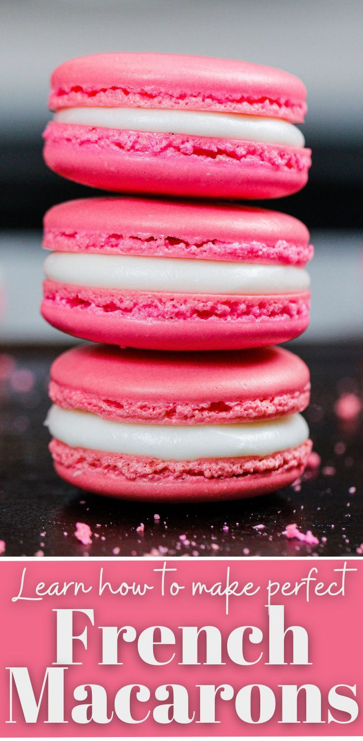 Photo of French Macarons: Detailed Recipe & Step by Step Tutorial – Chelsweets