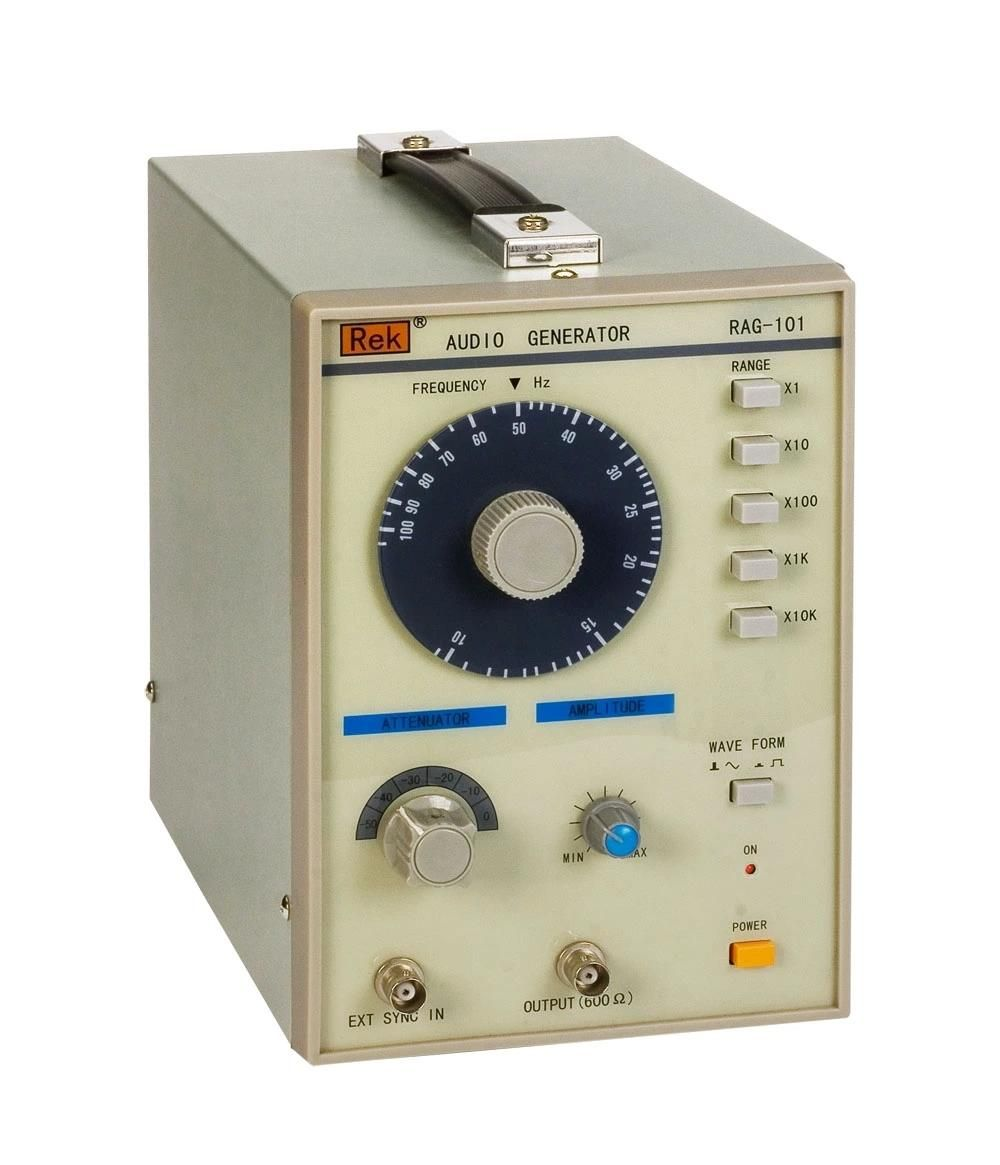 Rag 101 Low Frequency Signal Generator 10hz 1mhz Signal Audio Generator Audio Generation 10 Things