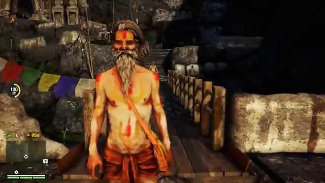 Far Cry 4 Gameplay Walkthrough Part 4 Ps4 Monastary Anamastay