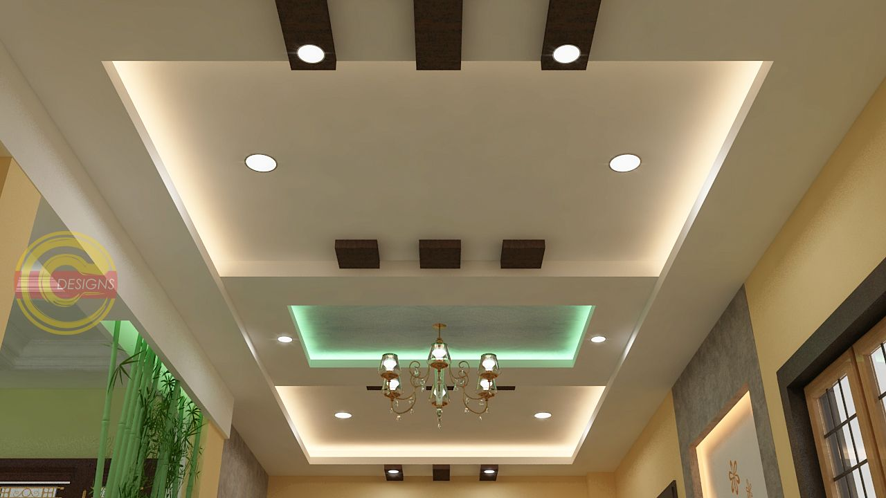 Fall Ceiling Designs Concepts in 2020 | Pop ceiling design ...