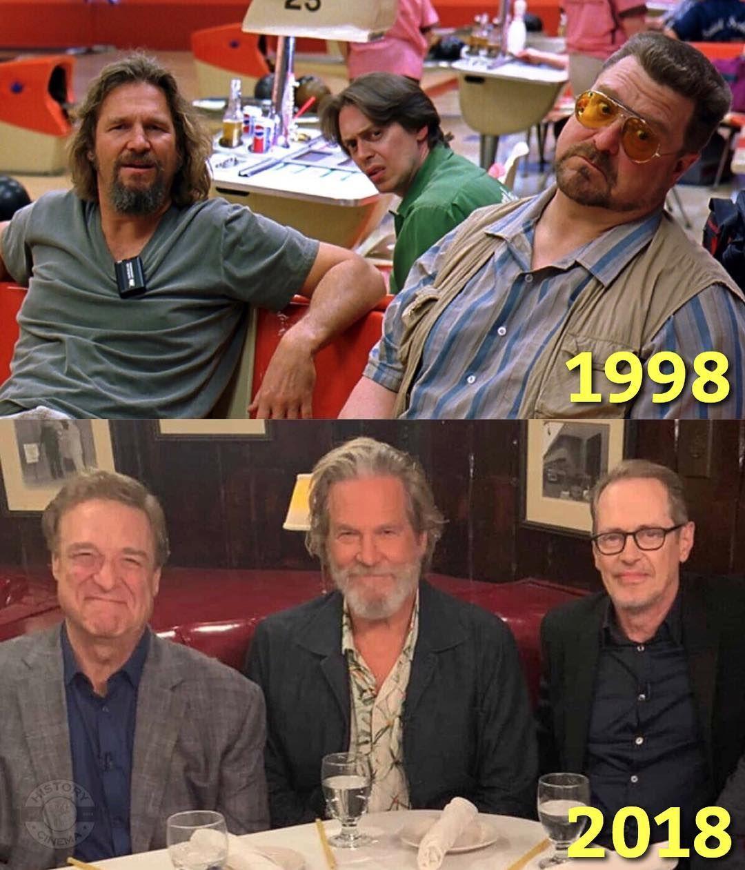 History Of Cinema On Instagram Jeff Bridges John Goodman And Steve Buscemi Reunited After 20 Years Si The Big Lebowski Big Lebowski Quotes Big Lebowski Meme