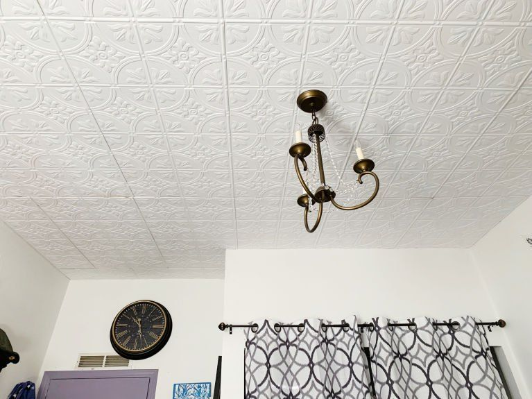 Utilize Ceiling Tiles With These Innovative Ideas Tin Ceiling