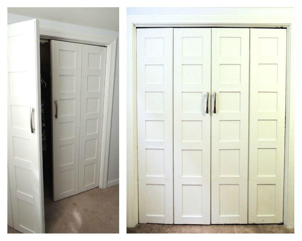 modern closet doors mirrored bifold